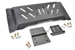 Undercarriage Armor - Jeep Wrangler TJ / LJ | 97-06 - Rough Country - Rough Country 1997-2002 Jeep TJ High Clearance Skid Plate 4.0L Auto   -1120