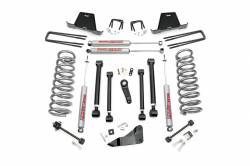 DODGE - 2003-08 Dodge 1 Ton Pickup - Rough Country - Rough Country 2003-2007 Dodge Ram 2500/3500 5IN DODGE SUSPENSION LIFT KIT *Choose Gas or Diesel* - 391.23-392.23