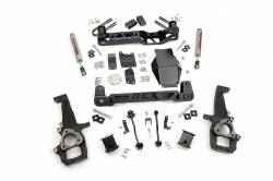"DODGE - 2006-08 Dodge 1/2 Ton Pickup - Rough Country - Rough Country 2006-2008 Dodge Ram 4WD 1500 4"" Suspension Lift Kit - 326S"