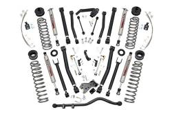 "Rough Country - Rough Country 2007 - 2018 Jeep JK Wrangler 6"" X-series Suspension *Choose Model* - 68422 -68322"