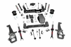 "DODGE - 2009-12 Dodge 1/2 Ton Pickup - Rough Country - Rough Country 2009-2011 Dodge Ram 1500 4WD 6"" Suspension Lift Kit *Choose Strut Options*  -329S-329.23"