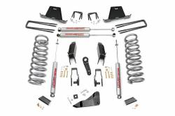 "DODGE - 2009-12 Dodge 1 Ton Pickup - Rough Country - Rough Country 2011-2013 Dodge Ram 2500 11-12 Dodge Ram 3500 5"" Suspension Lift Kit *Choose Engine*  - 348.23-349.23"