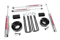 "DODGE - 1994-00 Dodge 1 Ton Pickup - Rough Country - Rough Country 94-01 Dodge Ram 1500 4WD 2.5"" Leveling Suspension Lift Kit   -362.20"