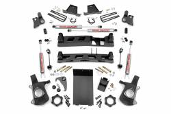 "CHEVY / GMC - 1999-06 Chevy / GMC 1/2 Ton Pickup - Rough Country - Rough Country 1999-2006 Chevy / GMC 1500 Pickup 4"" Suspension Lift Kit - 258N2"
