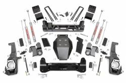 "CHEVY / GMC - 2011-16 Chevy / GMC 1 Ton Pickup - Rough Country - Rough Country 11-16 Chevy / GMC 2500HD / 3500HD 4WD Pickup 7.5"" NTD Suspension Lift Kit- 253X"