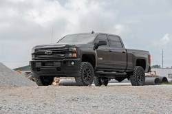 Rough Country - Rough Country 11-17 Chevy / GMC 2500 / 3500HD 3.5IN SUSPENSION LIFT KIT - 95920 - Image 2