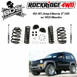 "BDS Suspension - BDS Suspension 2"" Lift Kit for 2002 - 2007 Jeep Liberty KJ  -442H"