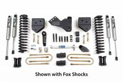 "F250 / F350 - 2005-2007 - BDS Suspension - BDS Suspension 4"" Suspension Lift Kit for 2005-2007 Ford F250/F350 4WD pickup truck - 343H"