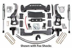 "4WD - 2004-2008 - BDS Suspension - BDS Suspension 4"" Suspension Lift Kit System for 2004-2008 Ford F150 4WD pickup trucks  -576H"