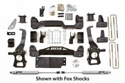 "FORD - 2009-12 Ford F150 - BDS Suspension - BDS Suspension 4"" Suspension Lift Kit System for 2009-2013 Ford F150 4WD pickup trucks   -598H"