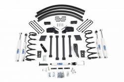 "DODGE - 1994-00 Dodge 3/4 Ton Pickup - BDS Suspension - BDS Suspension 4.5"" Lfit Kit for 1994 - 1999 Dodge Ram 2500 3/4 & 1 Ton 4WD Pickup - Gas & Diesel   -211H"