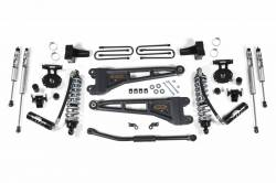 "F250 / F350 - 2011-2016 - BDS 2.5"" Coil-Over Conversion Radius Arm Suspension System 