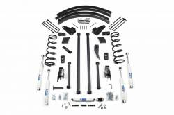 "Ram 3/4 Ton Pickup - 1994-1999 - BDS Suspension - BDS Suspension 4.5"" Long Arm Kit for 1994 - 1999 Dodge Ram 2500 3/4 & 1 Ton 4WD Pickup - Gas & Diesel   -213H"