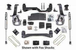 "2006-08 Dodge 1/2 Ton Pickup - BDS Suspension - BDS Suspension - BDS Suspension 6"" IFS Lift Kit for 2006 - 2008 Dodge Ram 1500 4WD 1/2 Ton Pickup - 624H"