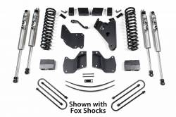 "Bronco - Bronco ll 4WD - BDS Suspension - BDS Suspension 6"" Lift Kit for 1982-1991 Ford Bronco II 4WD / 1983-1997 Ford Ranger 4WD and 1994-1997 Mazda Pickup 4WD - 518H"