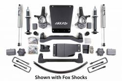 "CHEVY / GMC - 2007-17 Chevy / GMC 1/2 Ton Pickup & SUV - BDS Suspension - BDS Suspension 6"" Lift Kit for 2007 - 2013 Chevrolet/GMC 4WD 1500 Series Silverado/Serria 1/2 ton pickup   -176H"