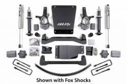 "CHEVY / GMC - 2007-17 Chevy / GMC 1/2 Ton Pickup & SUV - BDS Suspension - BDS Suspension 6"" Lift Kit for 2007 - 2013 Chevrolet/GMC 4WD 1500 Series Silverado/Serria 1/2 ton pickup  -176H"