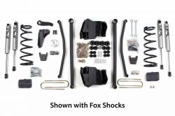"Ram 1 Ton Pickup - 2009-2012 - BDS Suspension - BDS Suspension 6"" Long Arm Kit for 2009-2013 Dodge 2500 3/4 Ton & 2009-2012 3500 1 Ton 4WD Gas & Diesel Pickup   -629H"
