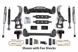 "FORD - 2009-12 Ford F150 - BDS Suspension - BDS Suspension 6"" Suspension Lift Kit System for 2009-2013 Ford F150 2WD pickup trucks   -577H"