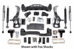 "FORD - 2009-12 Ford F150 - BDS Suspension - BDS Suspension 6"" Suspension Lift Kit System for 2009-2013 Ford F150 4WD pickup trucks   -573H"