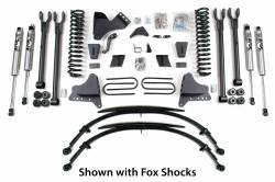 "F250 / F350 - 2008-2010 - BDS Suspension - BDS Suspension 8"" Suspension Lift Kit 4 Link System for 2008-2010 Ford F250/F350 4WD pickup truck   -567H"