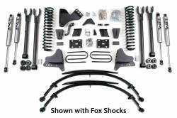 "FORD - 2005-14 Ford F250, F350 Super Duty - BDS Suspension - BDS Suspension 8"" Suspension Lift Kit 4 Link System for 2011-2016 Ford F250/F350 4WD Super Duty  -1500H"