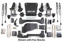 "Avalanche 2500 4WD - 2001-2010 - BDS Suspension - BDS Suspension Chevrolet/GMC 4WD 7"" Lift Kit for 99-06 1500 HD Silverado/Sierra 1/2 ton pickup, 01-06 2500 NON-HD Silverado/Sierra 3/4 ton pickup, Avalanche, Suburban, and Yukon XL 2500 3/4 Ton SUVs  -189H_SUV"