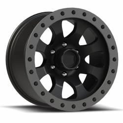 "Wheel Spacers & Adapters - Wheel & Tire Accessories - TrailReady Hardrock 024 17x10"" Beadlock Wheel"