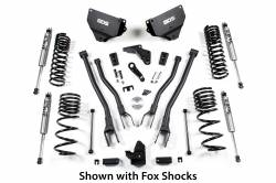 "BDS Suspension - BDS Suspension 2014-18 Ram 2500 4"" 4-Link Suspension System - Gas Models Only - 1611H"