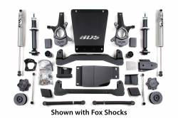 "Yukon XL 1/2 Ton 4WD - 2014 - BDS Suspension - BDS Suspension 4"" Lift Kit for 2007-2014 Chevrolet/GMC 4WD Avalanche, Suburban, Tahoe, Yukon, and Yukon XL 1500 1/2 ton SUVs - 188H"