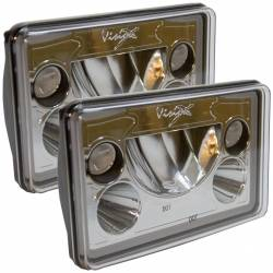 "Lighting - LED Headlights - VISION X Lighting - Vision X Vortex 4×6"" LED HEADLIGHT *Select Kit or Single Light* - XIL-46DKIT"