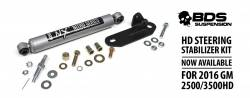 4WD - 2011-2019 2500 HD - BDS Suspension - BDS 2016-2020 CHEVY/GMC 3500/2500 STEERING STABILIZER KIT - 85430