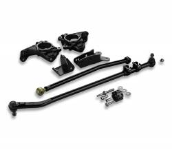 Suspension Build Components - Steering - TeraFlex - Teraflex Jeep Wrangler JK High Steer System & Drag Link Flip Kit - 4390975