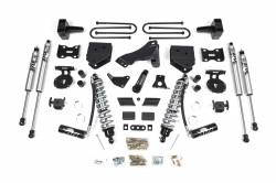 "F250 / F350 - 2011-2016 - 4"" Coilover Conversion Suspension System - 11-16 Ford F250/F350 4WD Diesel - 588F"
