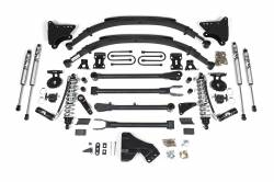 """4"""" Coilover Conversion 4-Link Suspension System - 11-16 Ford F250/F350 4WD Diesel - 590F"""