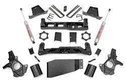 "CHEVY / GMC - 2007-17 Chevy / GMC 1/2 Ton Pickup & SUV - Rough Country - Rough Country 7.5"" Suspension Lift Kit for Chevy/GMC 2007-2013 1500 Pickup - 264.20-264.22"