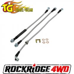 Brakes & Accessories - Universal Brakes & Accessories - Trail Gear Suzuki Jimny Extended Brake Line Kit - 304147-3-KIT