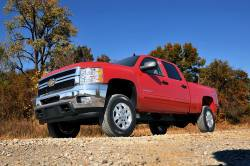 """Rough Country - Rough Country 1.5""""-2"""" Leveling Kit Chevy/GMC 2011-2016 2500 / 3500 HD Pickup- 9593 - Image 2"""