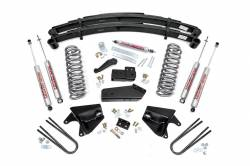 "1980-1996 Ford Bronco - Rough Country - Rough Country - Rough Country 4"" Suspension Lift Kit for Ford 1980-96 Bronco - 520B.20"