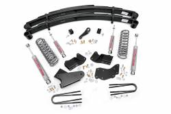 "1980-1996 Ford Bronco - Rough Country - Rough Country - Rough Country 4"" Suspension Lift Kit for Ford 1983-1997 Bronco II - 485.20"