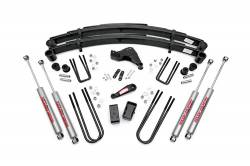 "FORD - 1999-04 Ford F250, F350 Super Duty - Rough Country - Rough Country 6"" Suspension Lift Kit for Ford 1999-2004 F250 / F350 Super Duty - 49630"