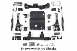 """2005-20 Toyota Tacoma - Zone Offroad Products - Zone Offroad - Zone Offroad 4"""" Suspension System 2016 Toyota Tacoma 4WD - T8N"""