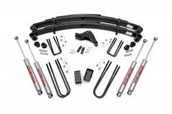 "FORD - 1999-04 Ford F250, F350 Super Duty - Rough Country - Rough Country 4"" Suspension Lift Kit for Ford 1999 F250 / F350 - 49430-494P"