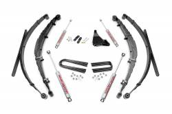 "FORD - 1999-04 Ford F250, F350 Super Duty - Rough Country - Rough Country 4"" Suspension Lift Kit for Ford 1999-2004 F250 / F350 - 50130"