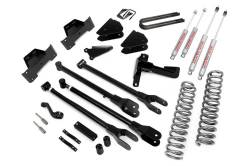 "FORD - 2005-14 Ford F250, F350 Super Duty - Rough Country - Rough Country 8"" 4-Link Suspension Lift Kit for Ford 2005-2007 F250 / F350 Diesel Super Duty - 591.20"