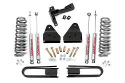 """FORD - 2005-14 Ford F250, F350 Super Duty - Rough Country - Rough Country 3"""" Series II Suspension Lift Kit for Ford 2008-2010 F250 / F350 Super Duty- 521.20-521P"""