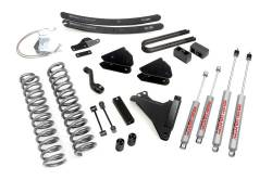 """FORD - 2005-14 Ford F250, F350 Super Duty - Rough Country - Rough Country 6"""" Suspension Lift Kit for Ford 2008-2010 F250 / F350 Super Duty *Choose Engine* - 594.20-597.20"""