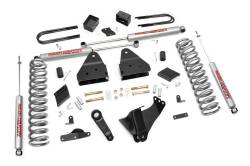 """FORD - 2005-14 Ford F250, F350 Super Duty - Rough Country - Rough Country 4.5"""" Suspension Lift Kit for FORD 2011-2014 F250 Super Duty - 563.20"""