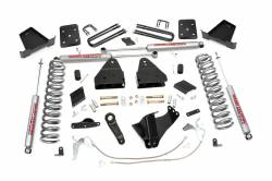 "FORD - 2005-14 Ford F250, F350 Super Duty - Rough Country - Rough Country 6"" Suspension Lift Kit for Ford 2011-2014 F250 Super Duty 6"" Suspension - 564.20-566.20-533.20-531.20"