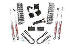 "1980-1996 Ford Bronco - Rough Country - Rough Country - Rough Country 2.5"" Suspension Lift Kit for Ford 78-79 Bronco - 405.20"